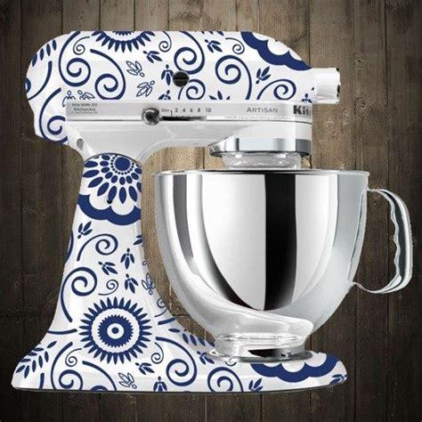 Kitchen Mixer Decals by Flowers Blue Kitchen Aid Mixer Decals Home Sweet Home