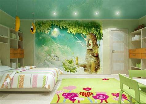 deco chambre bb fille fresque murale dans la chambre d enfant 35 dessins joviaux