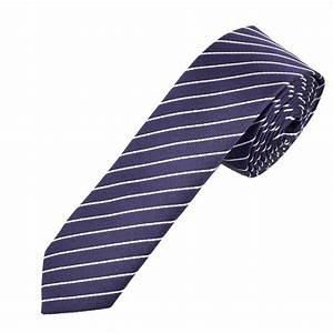Purple & Lilac Stripes Men's Skinny Tie from Ties Planet UK