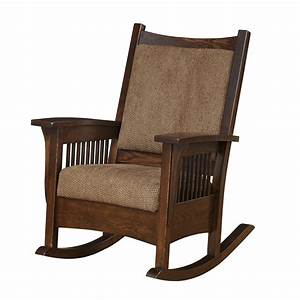 Amish Rocker from DutchCrafters Amish Furniture