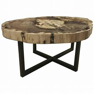 petrified wood extra large extra thick coffee table With extra large coffee tables for sale