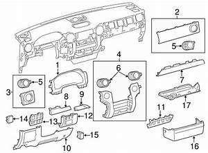 Toyota Tundra Interior Parts Diagram