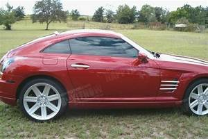 04 08 Chrysler Crossfire Coupe Painted Extreme Rear Roof