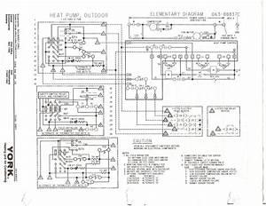 Heat Strip Wiring Diagram For York Unit