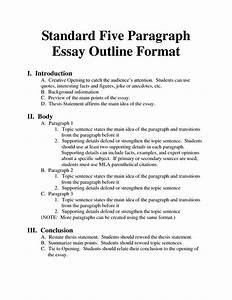 standard essay format bing images essays homeschool With essay outline template for high school
