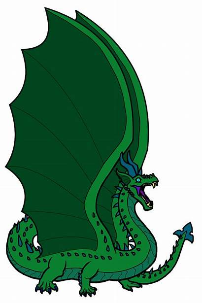 Dragon Grand Dragons Clipart Georges St Horror