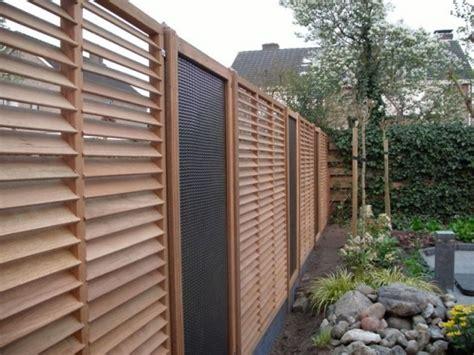 Sichtschutz Garten Holz Modern sichtschutz holz modern zaun modern holz beste garten