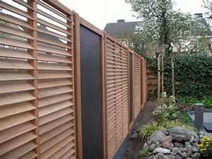 Garten Sichtschutz Holz : sichtschutz holz modern zaun modern holz beste garten ideen nowaday garden ~ Orissabook.com Haus und Dekorationen