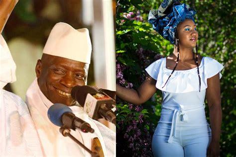 fatou jallow justice minister tambadou slams  president