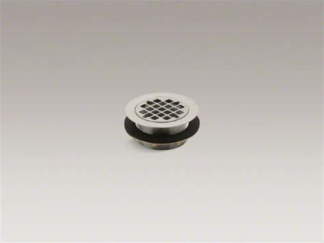 Kohler Round Shower Drain For Use With Plastic Pipe