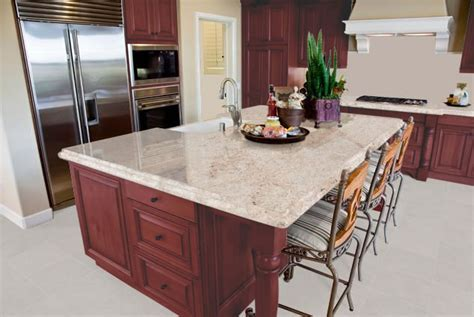 Best granite colors for cherry cabinets