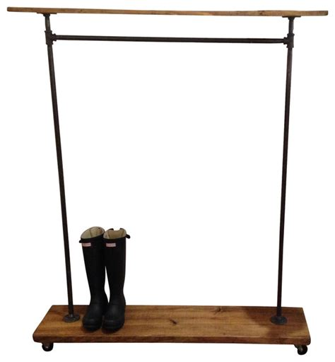 industrial clothing rack abigail recycled piping garment rack industrial