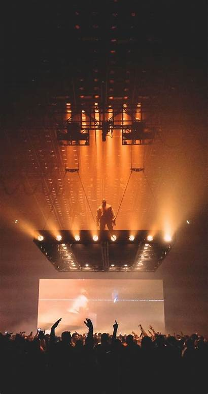 Kanye West Iphone Pablo Saint Stage Wallpapers