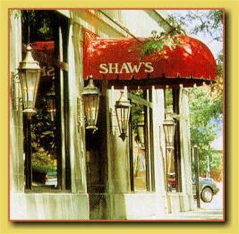 shaws restaurant lancaster menu prices restaurant