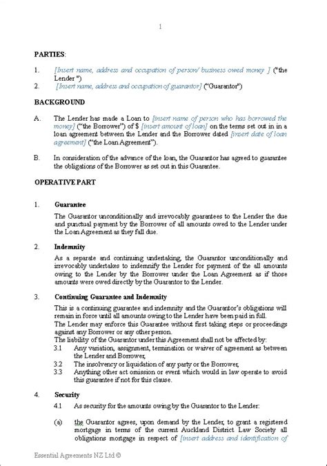 t rowe price loan repayment form personal guarantees new zealand legal documents