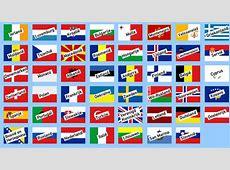 Gietjes Weetjes Vlaggen van Europa
