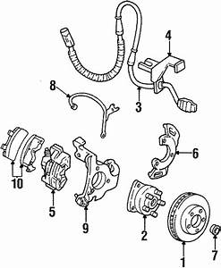 Front Brakes Parts For 1999 Buick Lesabre