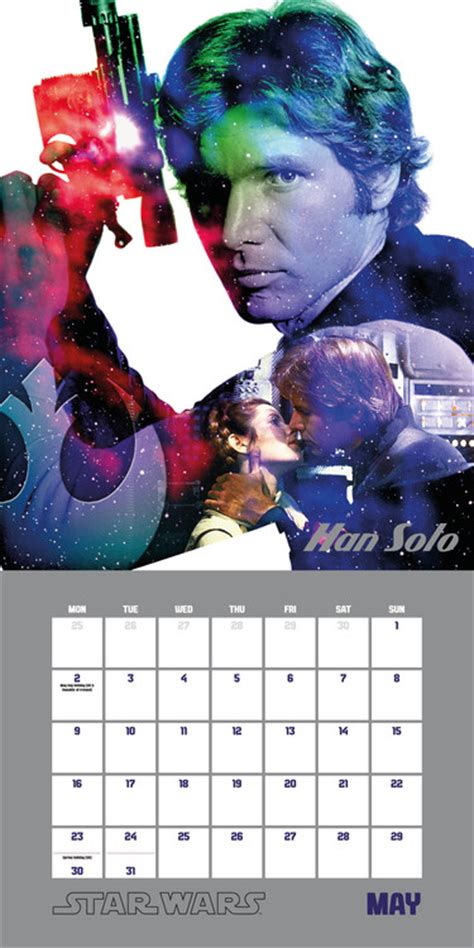 star wars classic edition calendars ukposterseuroposters