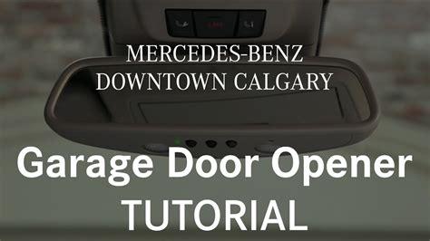 program mercedes garage door opener how to program and use your garage door opener mercedes