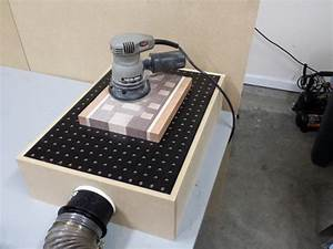 DIY Downdraft Sanding Table Box FixThisBuildThat
