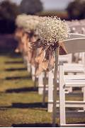 Rustic Themed Burlap Wedding Aisle Chair D Cor Oh Best Day Ever Chair Pew Aisle Decor Pdf Epattern For Your Diy Rustic Wedding 8 00 Wonderful Wedding Chairs Wedding Words Civil Secular How Did You Decorate Your Ceremony Space