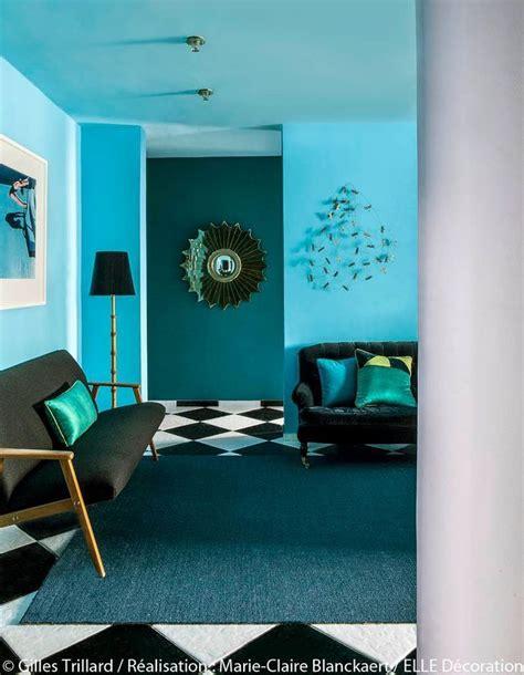 Peindre Son Salon En Bleu