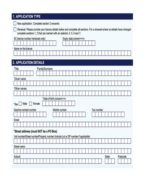 security clearance form 32 clearance forms in pdf