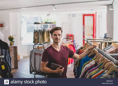 For Retail Manager by Portrait Of A Store Manager In Clothing Store Stock Photo