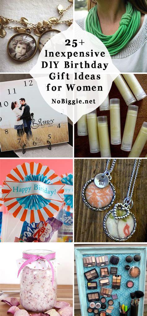 diy birthday ideas 25 inexpensive diy birthday gift ideas for women