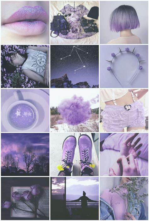 oc purple lilac lavender pastel grunge goth libra girl