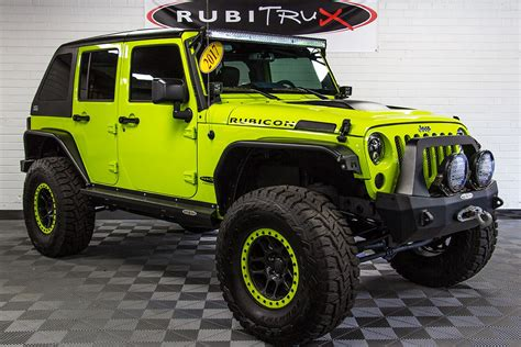 hyper green jeep 2017 jeep wrangler rubicon unlimited hyper green