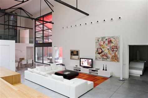 Industrial Meets Refined In A Loft In A Former Garage by Industrial Meets Refined In A Loft In A Former Garage