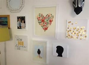 Fancy wall decor idea with grand easy diy art design of