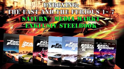 fast and furious 1 7 unboxing the fast and the furious 1 7 media markt