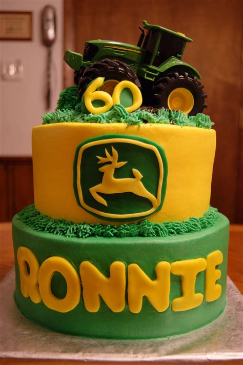 It's not practical to light 60 candles on a cake, but thanks to the vast array of cake decorations available, it's easy to make even the basic of 60th birthday cakes look really special. John Deere 60Th Birthday Cake - CakeCentral.com