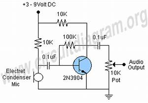 Microphone Preamp Circuit