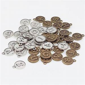 aliexpresscom buy vintage zinc alloy round alphabet a z With alphabet letters for jewelry making