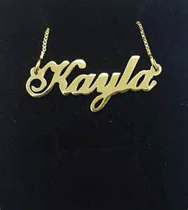 Jewelry Name Necklace