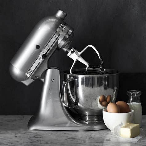 kitchenaid artisan stand mixer contour silver williams