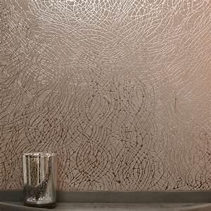 Tapete Geometrische Muster : arthouse folie wirbel muster tapete geometrische textur metallisches motiv vinyl ebay ~ Frokenaadalensverden.com Haus und Dekorationen