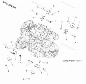 Polaris Atv 2011 Oem Parts Diagram For Engine Mounting