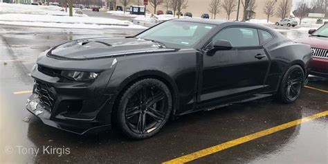 carbon brake equipped camaro prototype