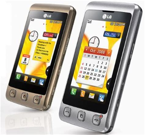 Lg Mobile Kp500 by Lg Kp500 Cookie Touch Screen Mobile