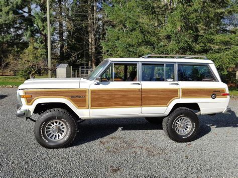 classic jeep wagoneer for sale vintage classic 1989 jeep wagoneer grand offroad for sale