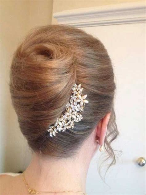 15  French Hair Bun Pictures   Hairstyles & Haircuts 2016