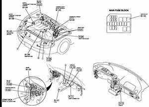 99 Mazda 626 Engine Diagram