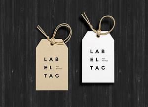 free photorealistic paper hang tag mockup psd good mockups With hang tag mockup