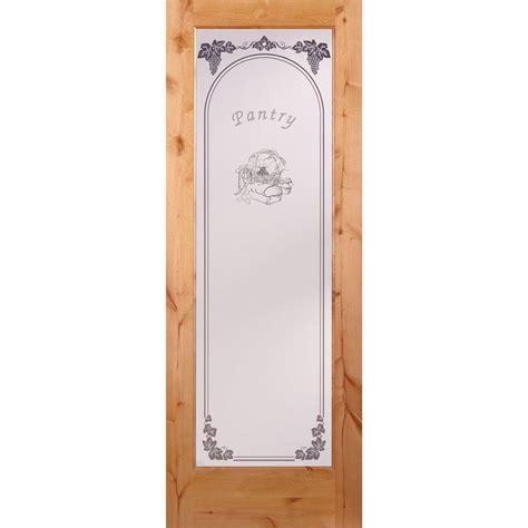 home depot glass interior doors feather river doors 30 in x 80 in pantry woodgrain 1