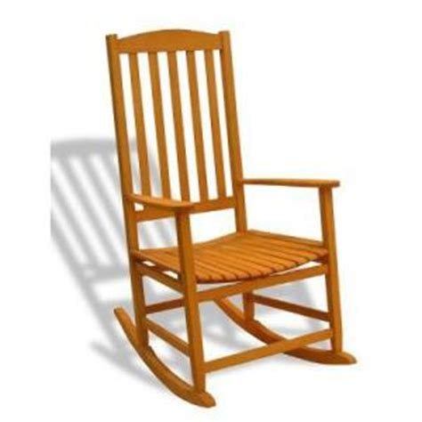 hton bay teak patio rocking chair discontinued