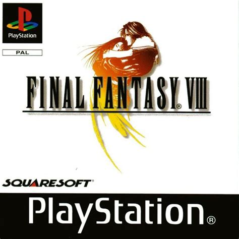 Final Fantasy 8  Viii  Ff8  Cover Scans